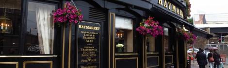 The Haymarket Bar, Haymarket, Edinburgh